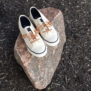 SPERRY TOP-SIDER Seacoast Ivory Shoe